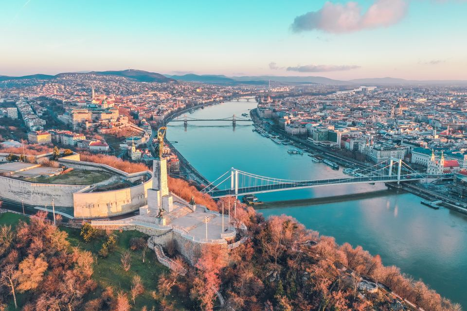 river in Budapest