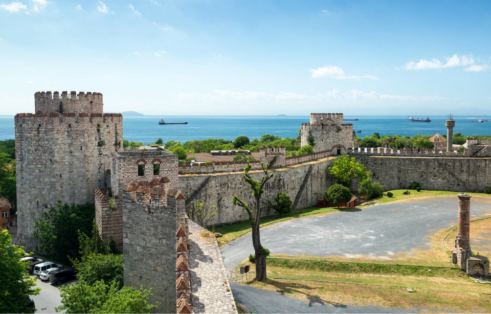 Istanbul landmark Yedikule fortress
