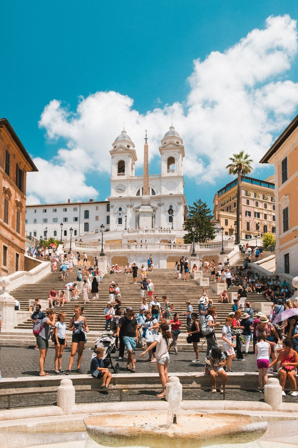 The Spanish Steps and Centro Storico