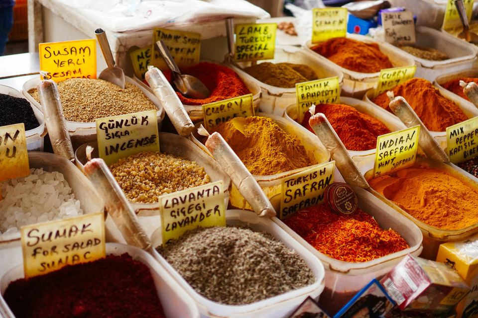 holidays in Instanbul the spice bazaar
