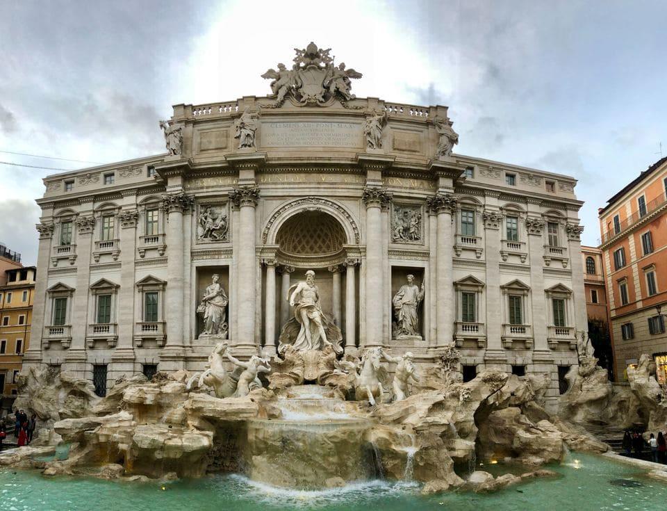 holidays in Rome  - Fontana di Trevi