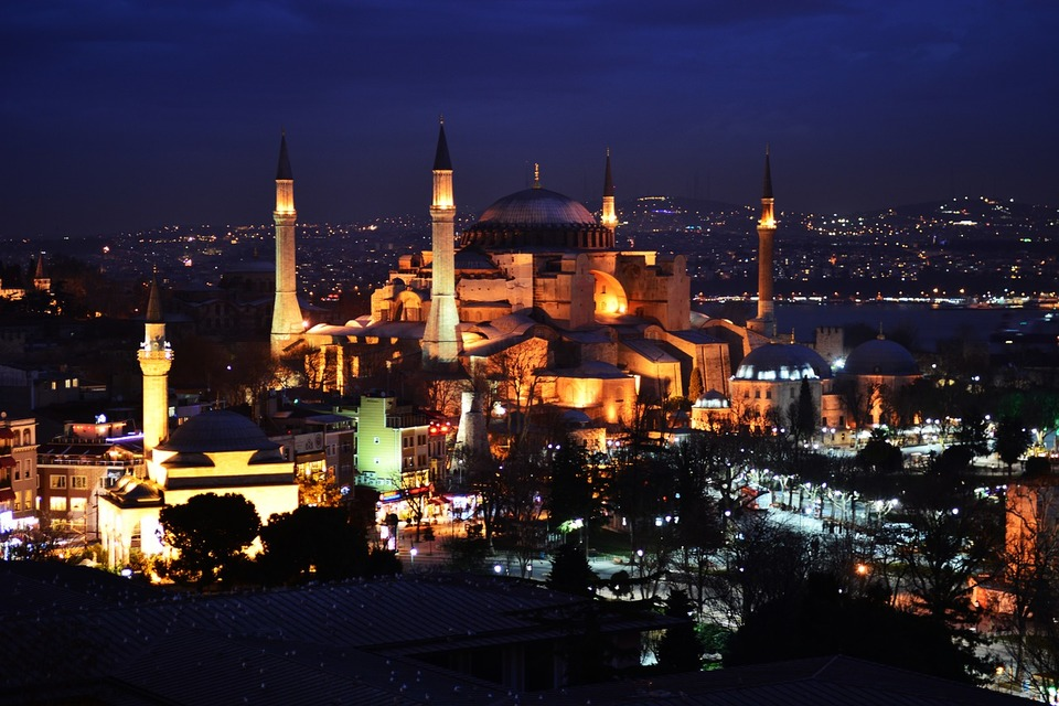places to visit in Istanbul hagia sophia