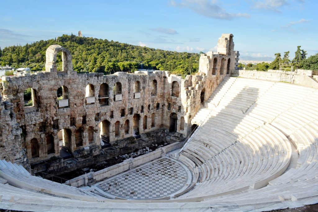 Historic landmarks in Athens