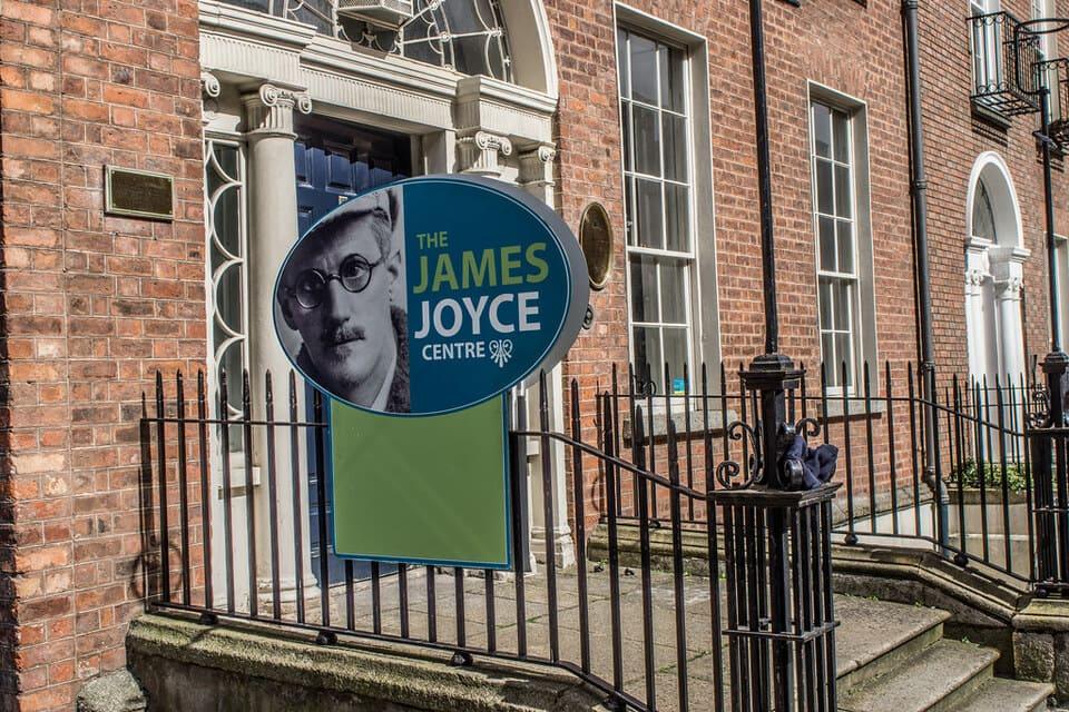 Holidays in Dublin visiting James Joyce Centre